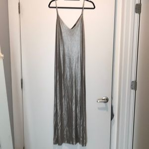 Zara gold knit dress